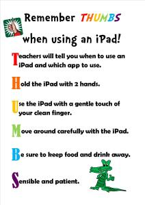 Ipad guidelines - THUMBS